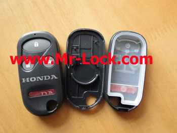 HONDA 4BUTTON REMOTE SHELL