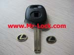 LEXUS TOY48 key blank can put in chip