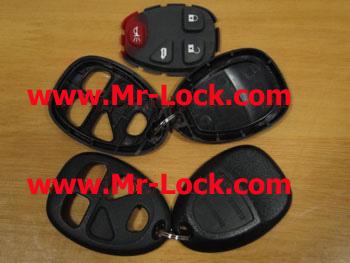 GM 4button remote shell