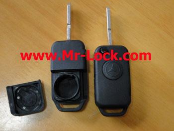 Benz 1 Button Flip Remote Cover