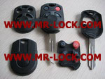 FORD 4button remote key shell