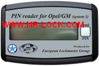 PIN Reader for Opel/GM