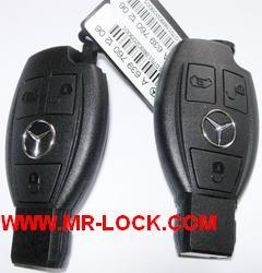Mercedes key online generation