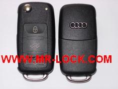 VW, AUDI Flip key Megamos 48