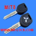 Mitsubishi MIT8 Transponder Key ID46 (with Left Keyblade)