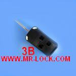 Lexus Flip Remote Key Shell 3 Button