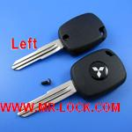 Mitsubishi 4D Duplicable Key Shell with left