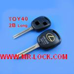 Lexus Remote Key Shell 2 Button TOY40