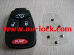 Chrysler remote key 4button pad