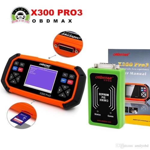 new arrival obdstar x300 pro3 key master